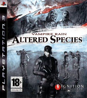 Vampire Rain Altered Species Ps3