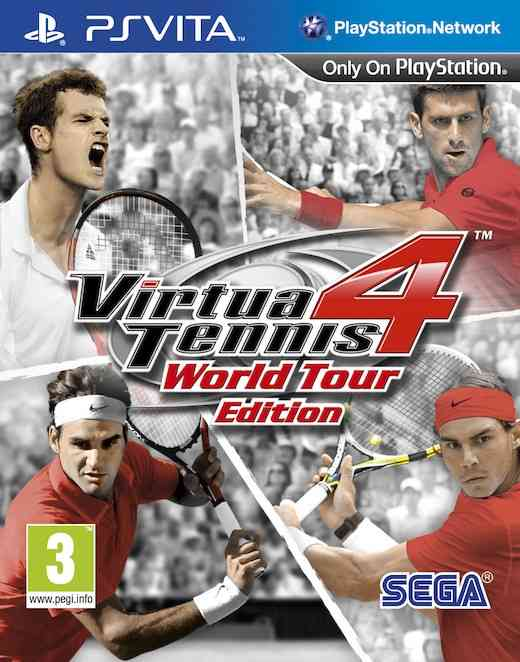 Virtua Tennis 4 Edicion World Tour Psvita