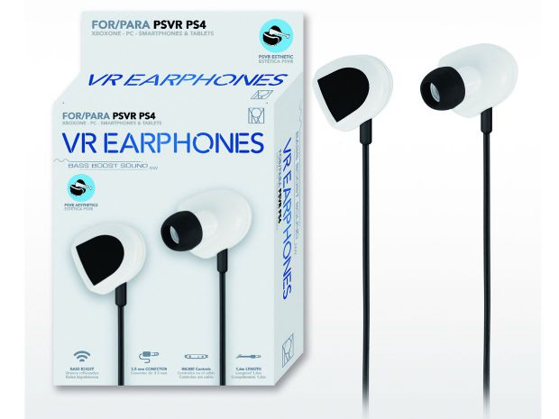 Ver VR Earphones Bass Boost Woxter Ps4 VR