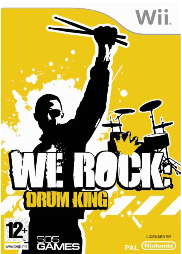 We Rock Drum King Wii