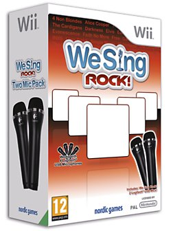 We Sing Rock 2 Mic Bundle Wii