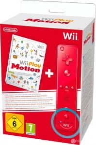 Wii Play Motion   Remote Plus Rojo Wii