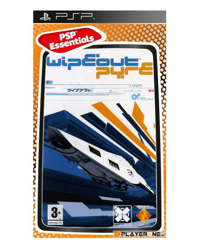 Wipeout Pure Essential Psp