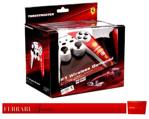 Wireless Game Pad Thrustmaster F1 Alonso Edition Ps3pc