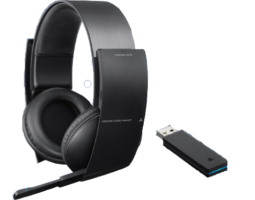 Wireless Stereo Headset Sony Ps3