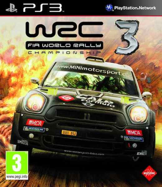 World Rally Championship 3 Ps3
