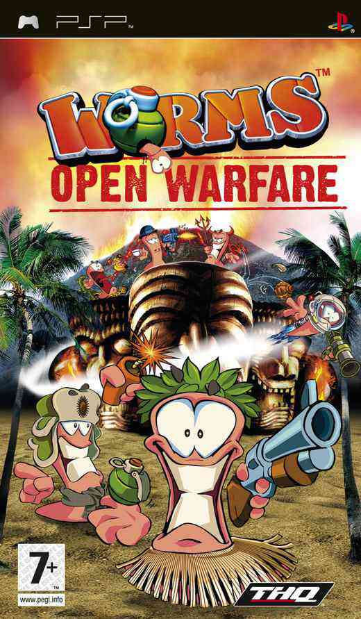 Worms Open Warfare Essentials Psp