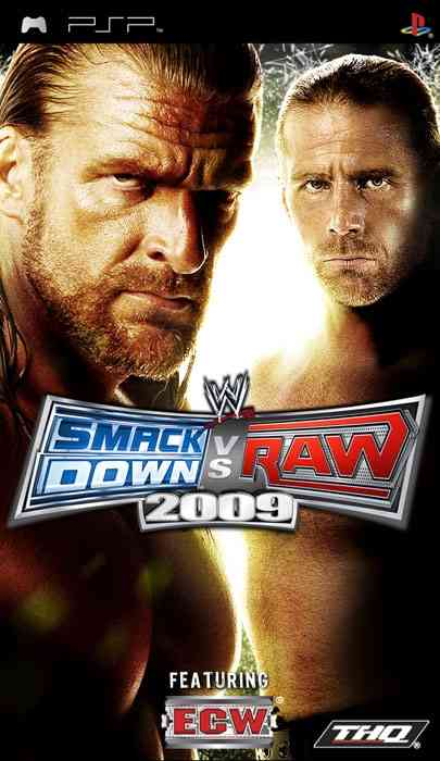 Ver WWE SMACKDOWN VS RAW 2009 PSP