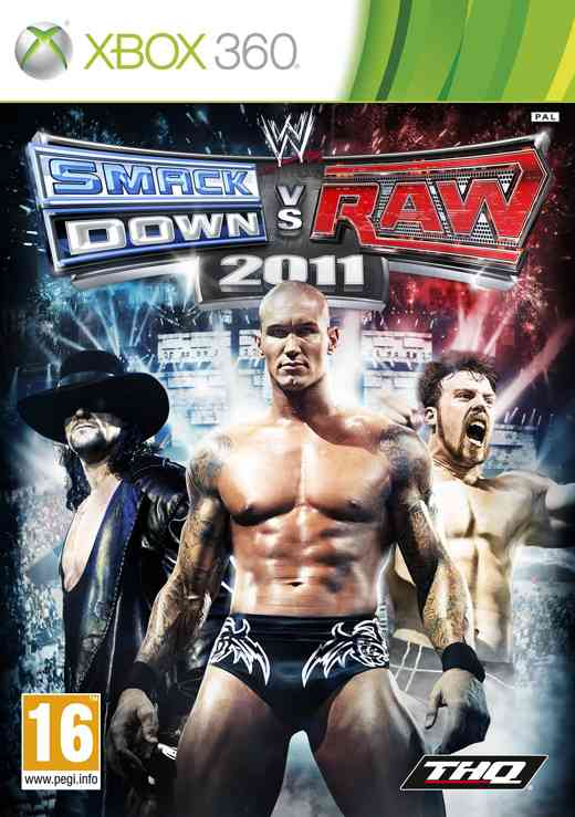 Wwe Smackdown Vs Raw 2011 X360