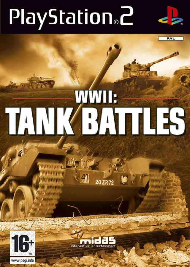 Wwii Tank Battles Ps2