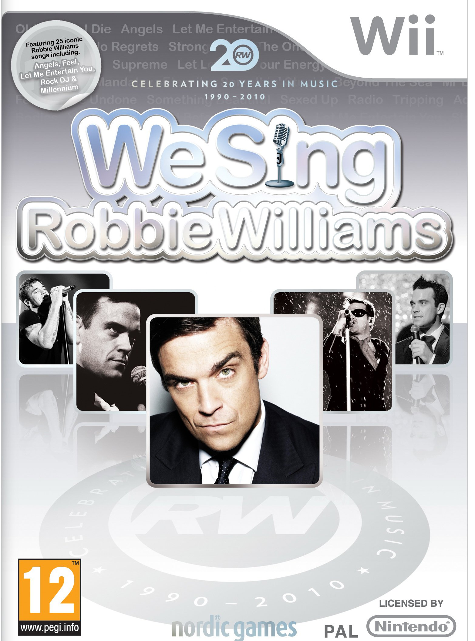 Ver We Sing Robbie Williams Wii