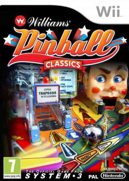 Williams Pinball Classics Wii