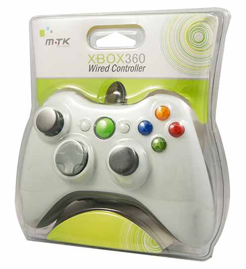 Ver Wired Controller Blanco MTK X360