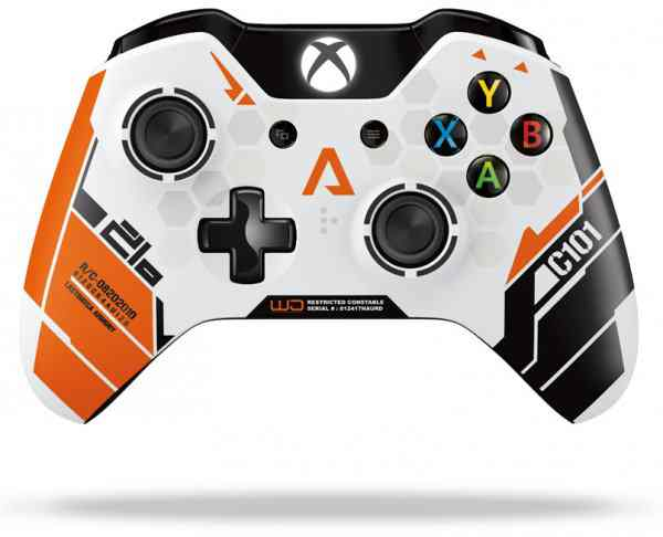 Wireless Controller Edicion Limitada Titanfall Xbox One