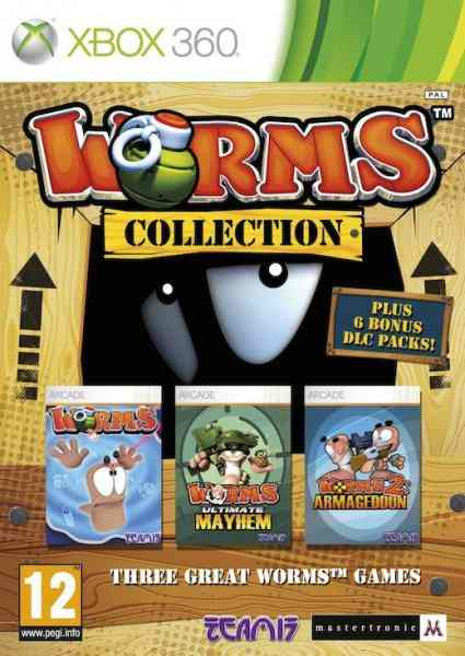 Worms Collection X360