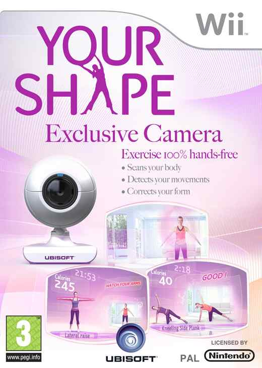 Your Shape   Camara Wii