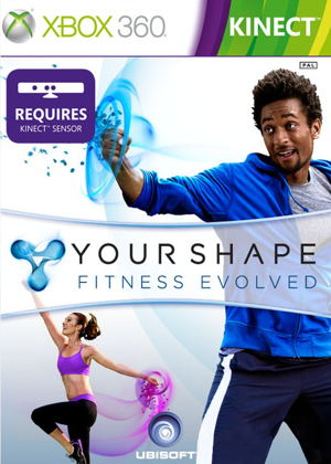 Your Shape Fitness Evolved X360 Kinect