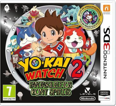 Ver Yo Kai Watch 2 Fantasqueletos 3Ds