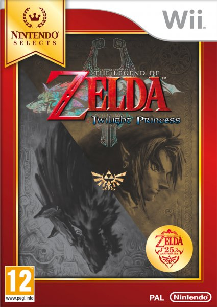 Ver ZELDA TWILIGHT PRINCESS SELECTS WII