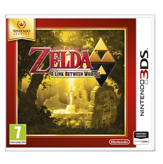Ver Zelda A Link Between Worlds Selects 3Ds