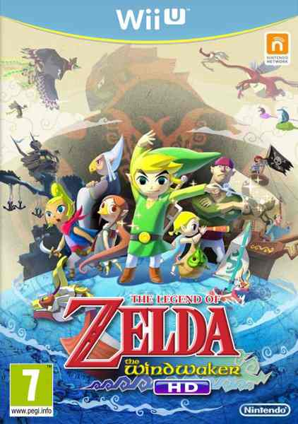 Zelda Windwaker Hd Wii U