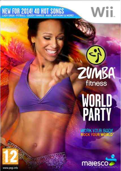 Zumba Worl Party Wii