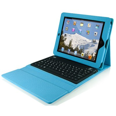 3go Funda Sensitive Para Ipad   Teclado Color Azul