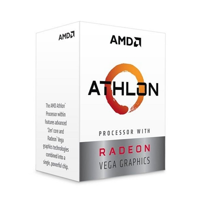 AMD ATHLON 240GE 3 5GHz 5MB 24 CORE 35W AM4 BOX