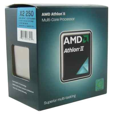 Amd Athlon Ii X2 250 30ghz 20mb Am3 Box
