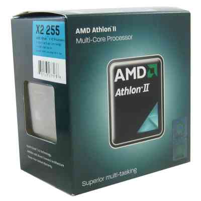 Amd Athlon Ii X2 255 31ghz 20mb Am3 Box