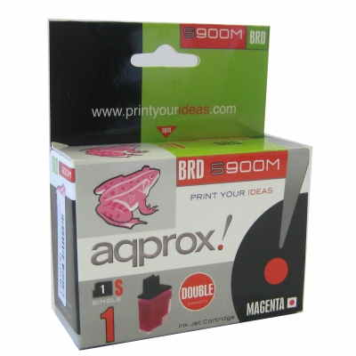 Approx Cart Compatible Brother Lc900m Magenta