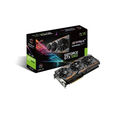 Ver ASUS STRIX GTX 1060 O6G GAMING 6GB DDR5