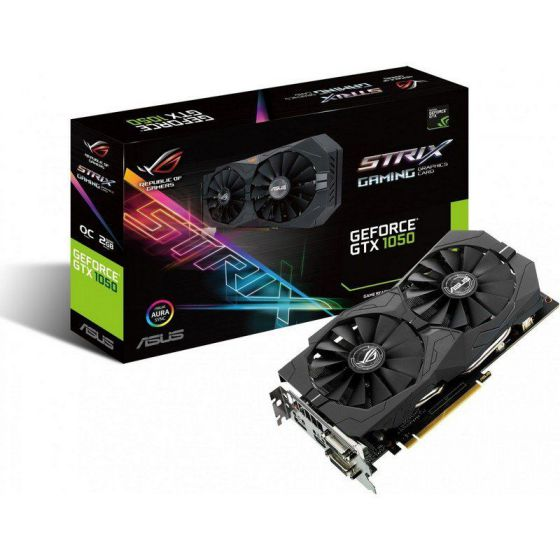 Ver ASUS STRIX GTX 1050 O2G GAMING 2GB DDR5