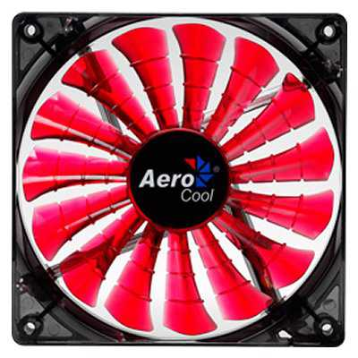 Aerocool Shark Devil Red Vent 12cm 1500rpm 4xled
