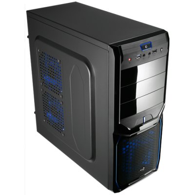 Ver Aerocool Caja Semitorre V3X Advance Black-Blue 30