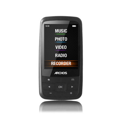 Archos Mp4 24b 4gb Gris
