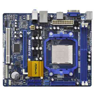 Asrock Placa Base N68-vs3 Fx Ddr3 Sata2 Matx Am3