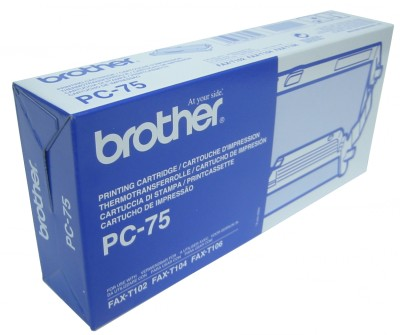 Ver BROTHER Cartucho   Bobina Fax T104