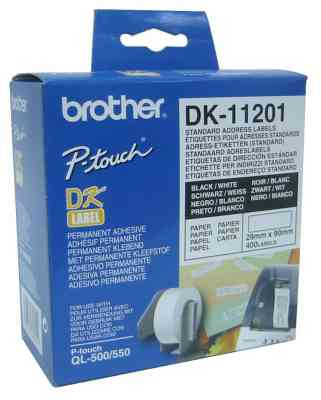 Ver BROTHER Etiquetas Direccion 29x90mm QL550