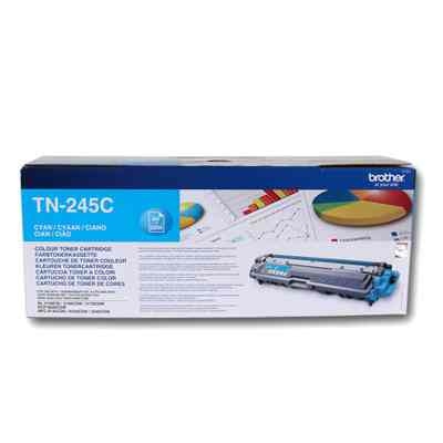 Ver BROTHER TN245C Toner Cyan HL3170CDW 2200 pag