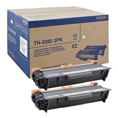 Ver BROTHER Toner TN3380TWIN  HL 5440D 5450DN