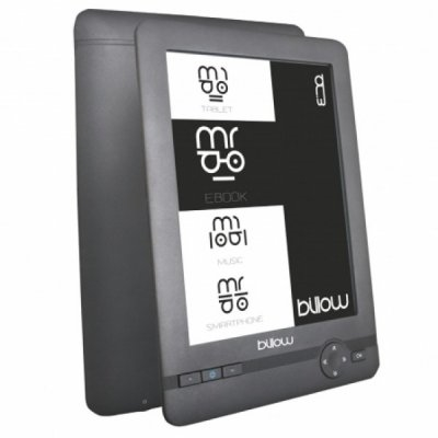 Ver Billow E01FL eBook reader 6 E Ink 2GB Luz Gris