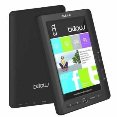 Ver Billow E2TB Color Book reader 7 4GB Negro