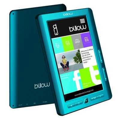Ver Billow E2TLB Color eBook reader 7 4GB Azul