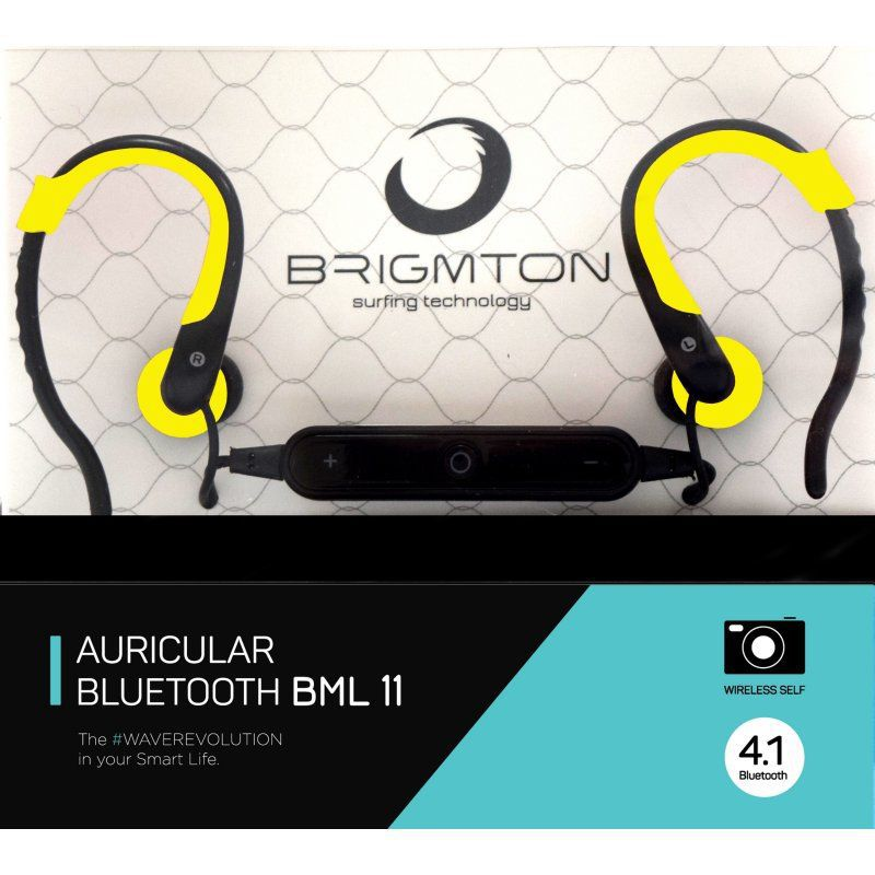 Ver Brigmton BML 11AM Bluetooth Amarillo