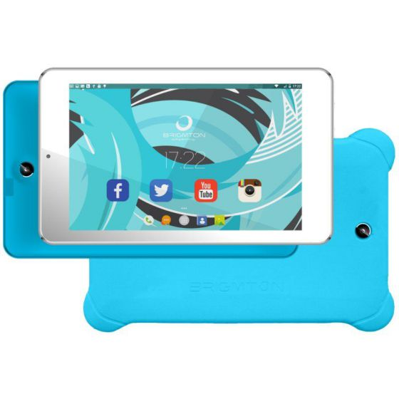 Ver Brigmton KIT Tablet 7 QC 8GB BTPC702 Azul PSilic