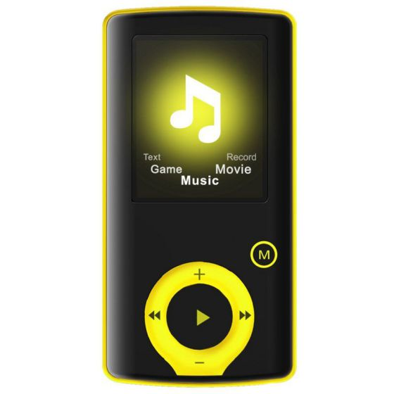 Ver Brigmton Reproductor MP4 BPA 81 8GB Amarillo