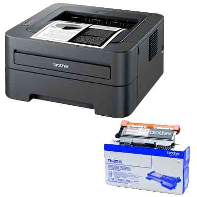 Impresora Laser Brother Kit Hl-2250dn 16 Ppm Wifi Toner Tn2210