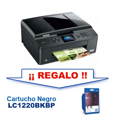 Brother Kit Mfc-j430   Regalo Cartucho Lc1220bk