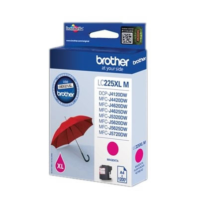 Brother LC225XLMB MAGENTA